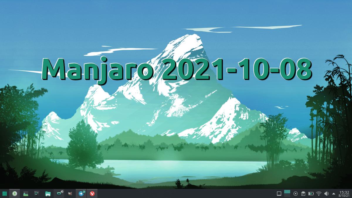 Manjaro 2021-10-08