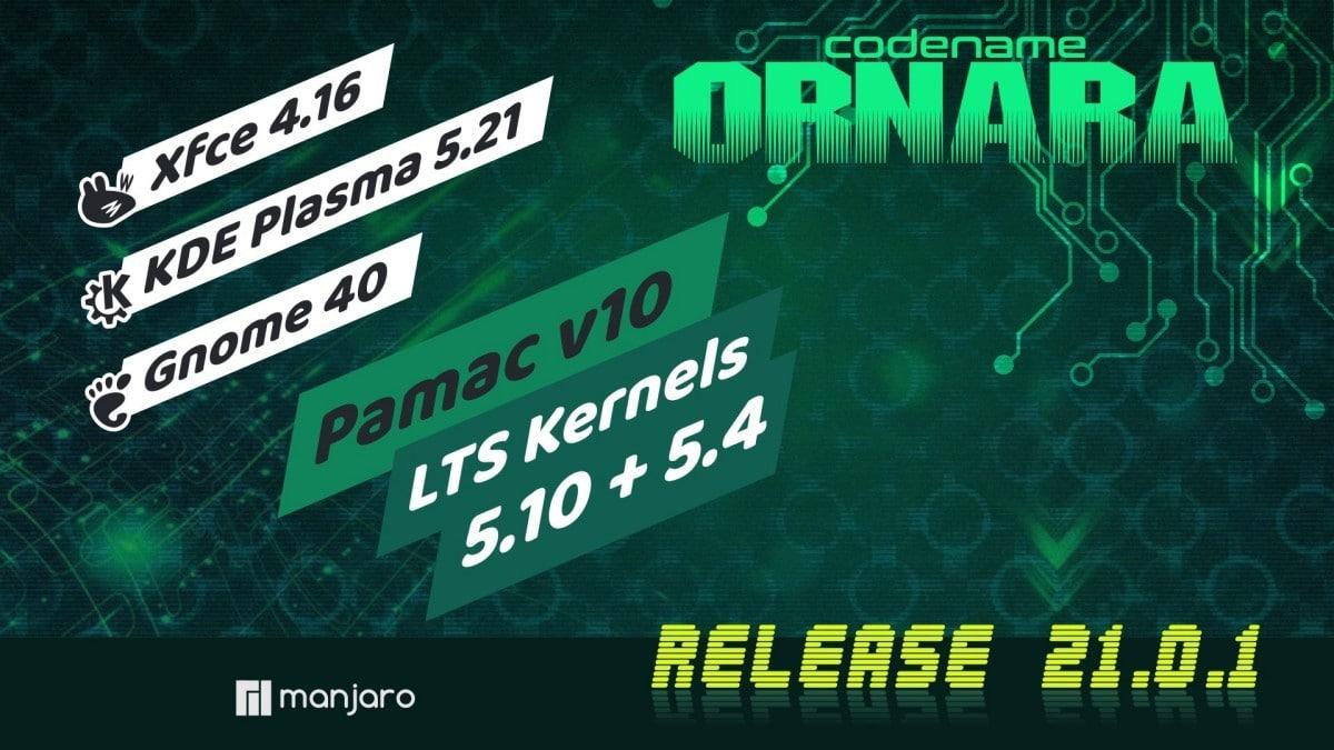 Manjaro 21.0.1