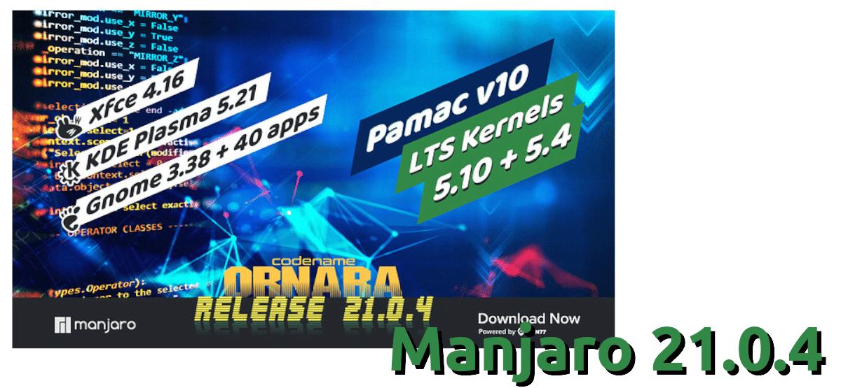 Manjaro 21.0.4
