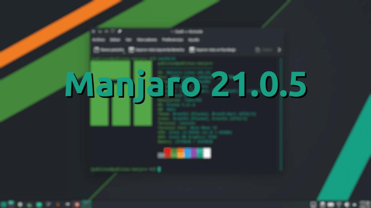 Manjaro 21.0.5