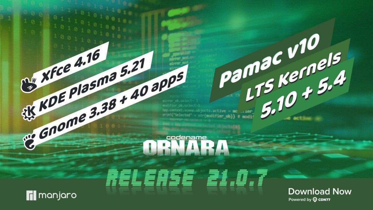 Manjaro 21.0.7