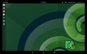 Manjaro en tablet Android