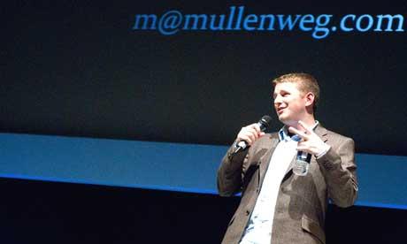 Matt Mullenweg durante una conferencia