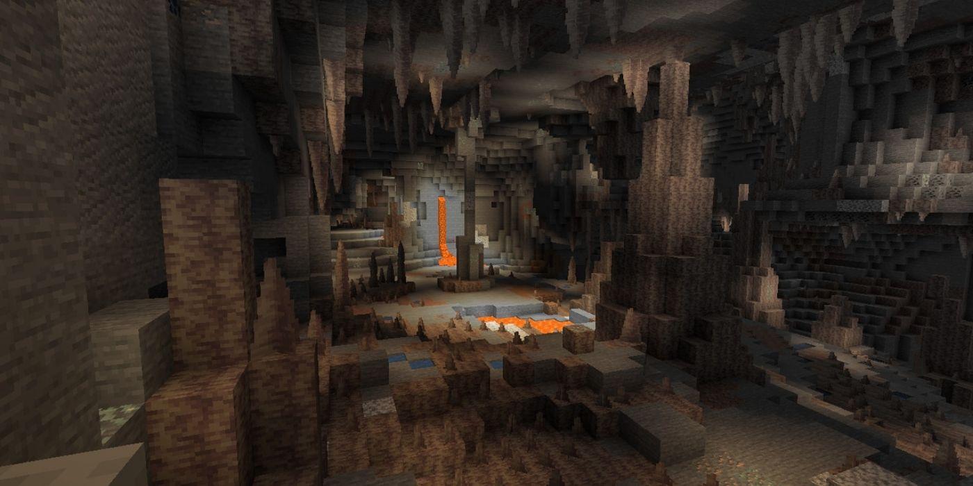 Caves & Cliffs de Minecraft