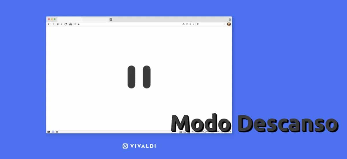 Modo Descanso en Vivaldi 3.3