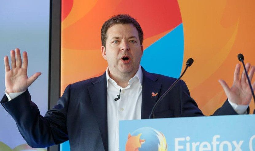 Chris Beard, CEO de Mozilla.