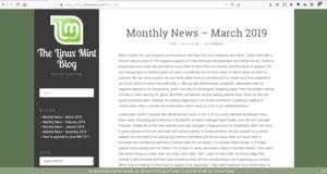 Captura de pantalla del post de Clement Lefebvre que dio orígen a las dos visiones sobre el caso Linux Mint