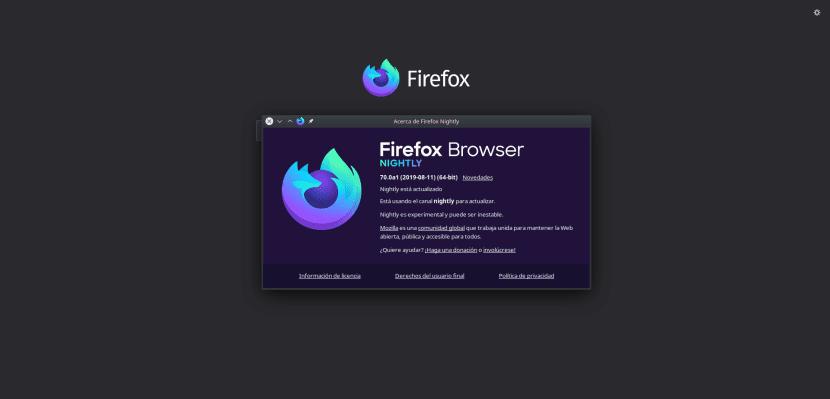 Nuevo icono de Firefox en Nightly