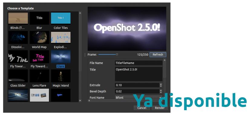 OpenShot 2.5.0