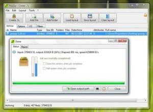 PeaZip 3.7. El mejor compresor gratuito para Linux