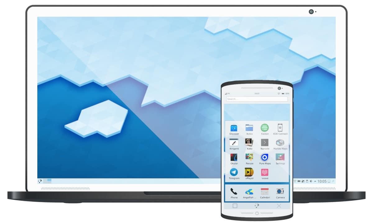 Plasma Mobile, Linux para móviles