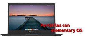 Portátiles con elementary OS