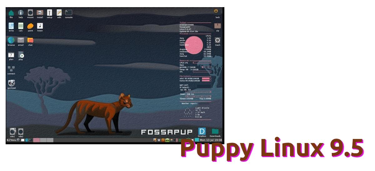 Puppy Linux 9.5