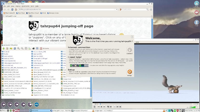 PuppyLinux Quirky 8.2