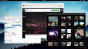 Captura de pantalla de PureOS