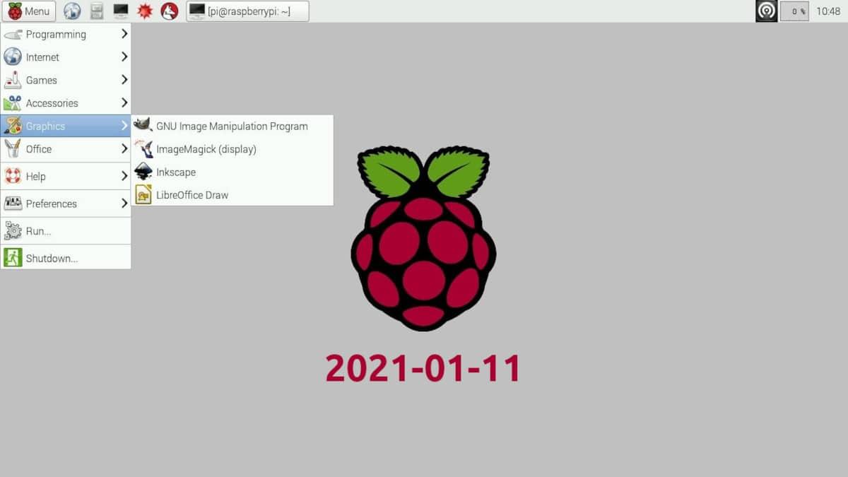 Raspberry Pi OS 2021-01-11