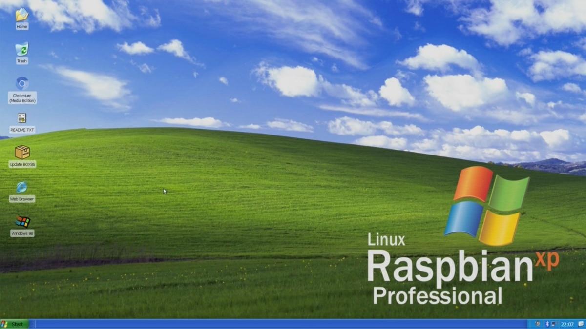 Raspbian XP