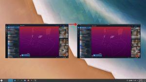 Recuperar barra nativa en Telegram para Linux