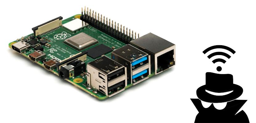 Red Wi-Fi oculta en la Raspberry Pi