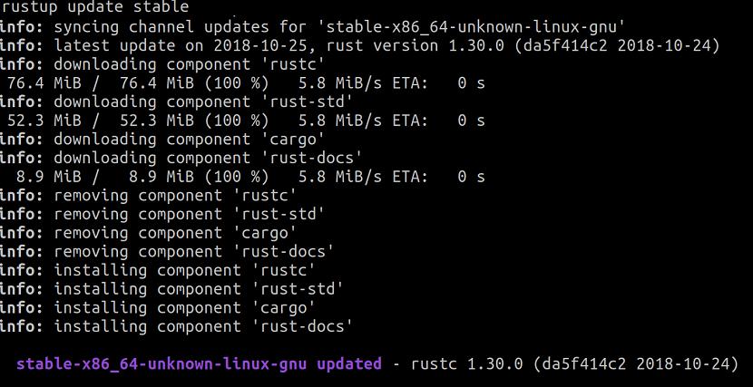 Rust 1.30.0