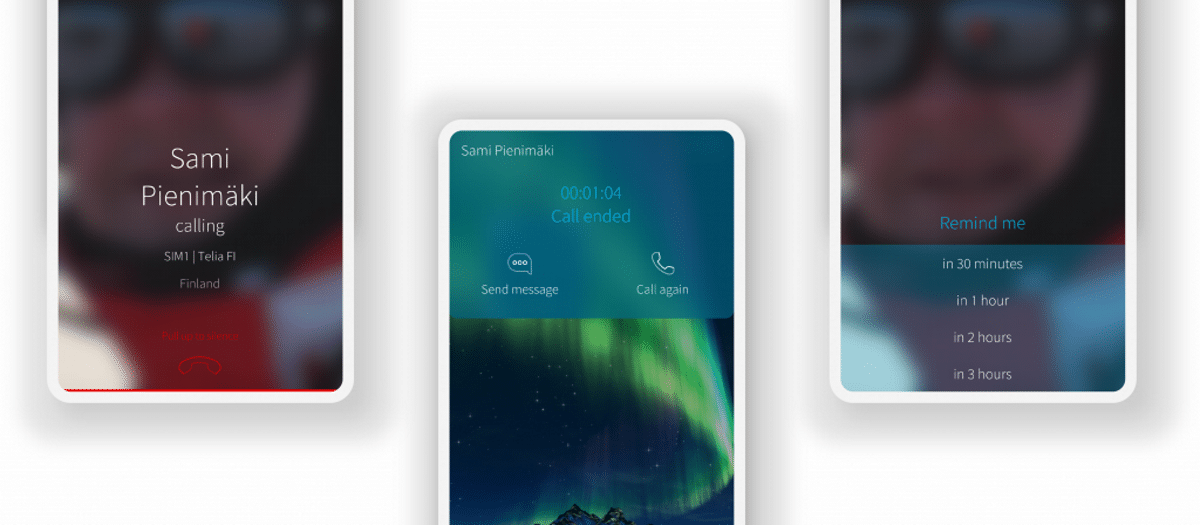 Sailfish 3.2- interfaz de llamadas