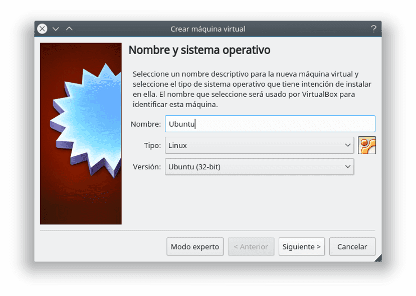 máquina virtual virtualbox