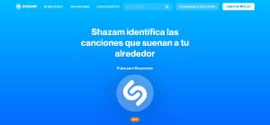 Shazam en la web
