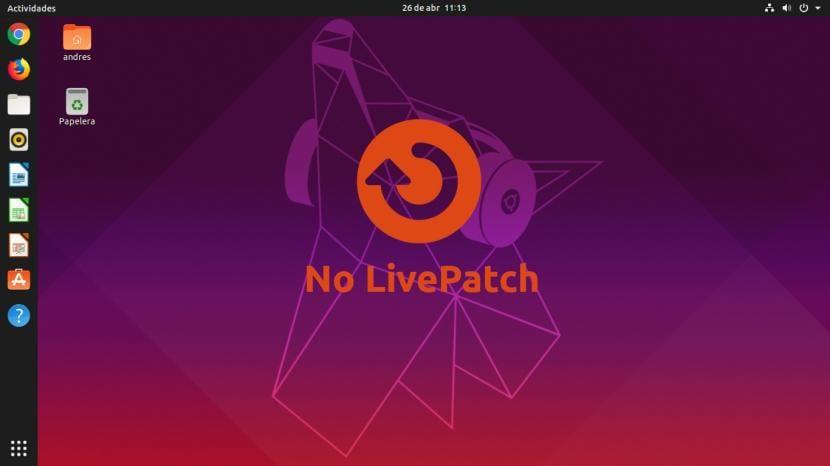 Sin LivePatch