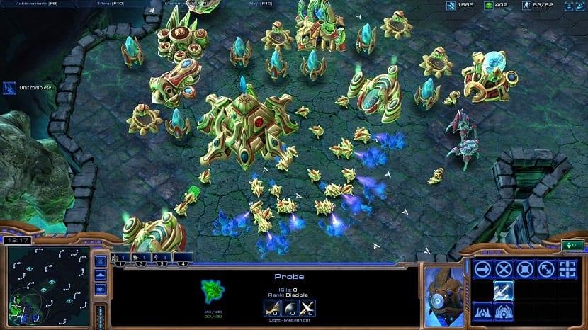 StarCraft II Linux