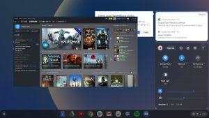 Steam en Chrome OS