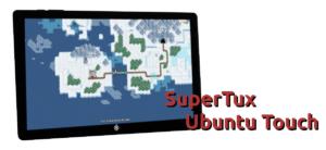 SuperTux en Ubuntu Touch