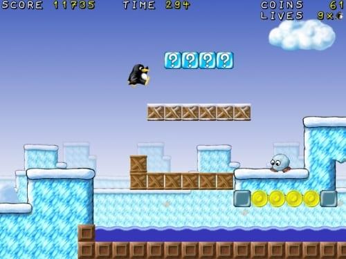 SuperTux, entretenido juego de plataformas para Linux