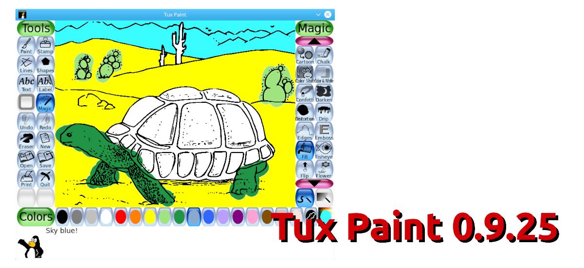 Tux Paint 0.9.25