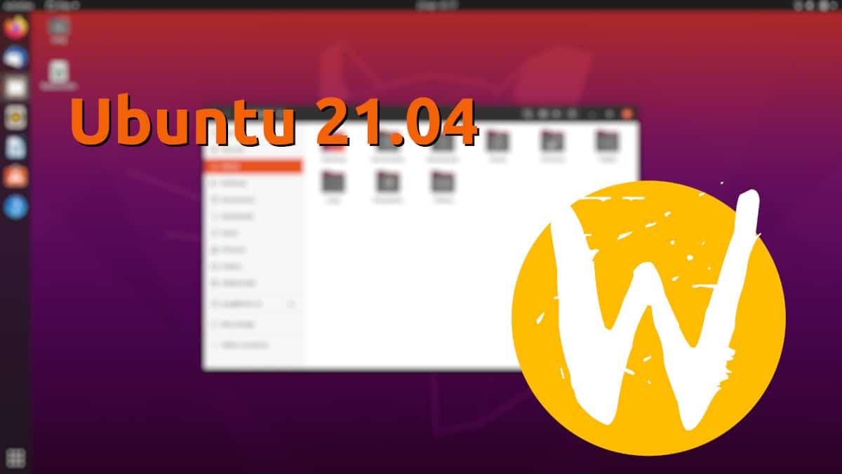 Ubuntu 21.04 con Wayland