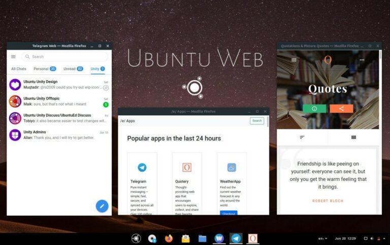 Ubuntu Web 20.04.2
