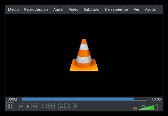 VLC codificando vídeo