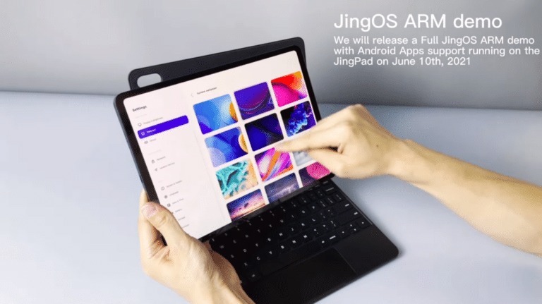 Vídeo demostración de la JingPad A1