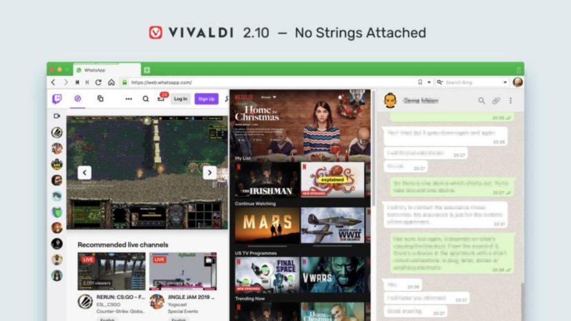Vivaldi 2.10