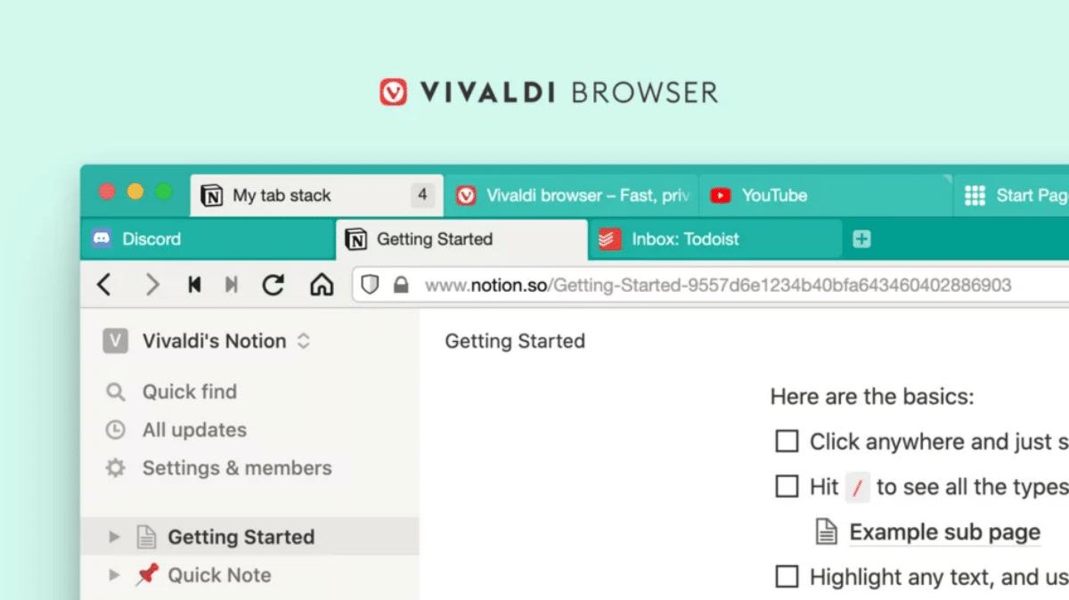 Vivaldi 3.6