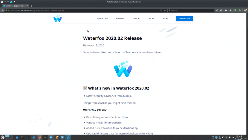 Waterfox 2020.2