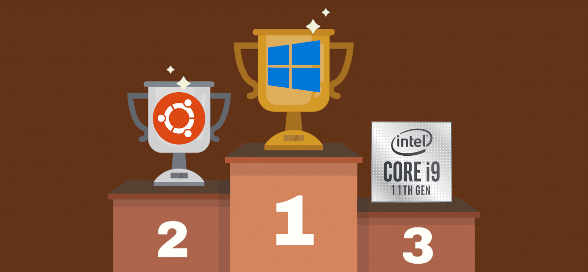 Windows gana con el Intel i9