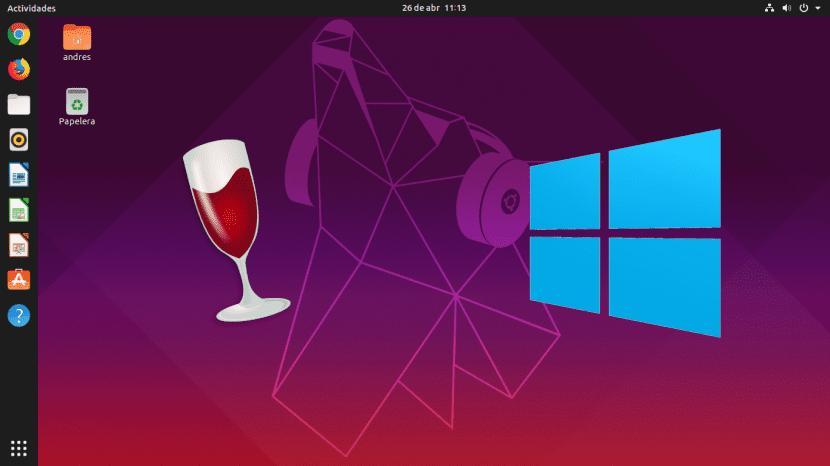 Wine 4.13 en Disco Dingo