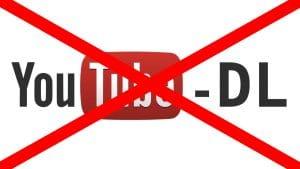 YouTube-DL prohibido