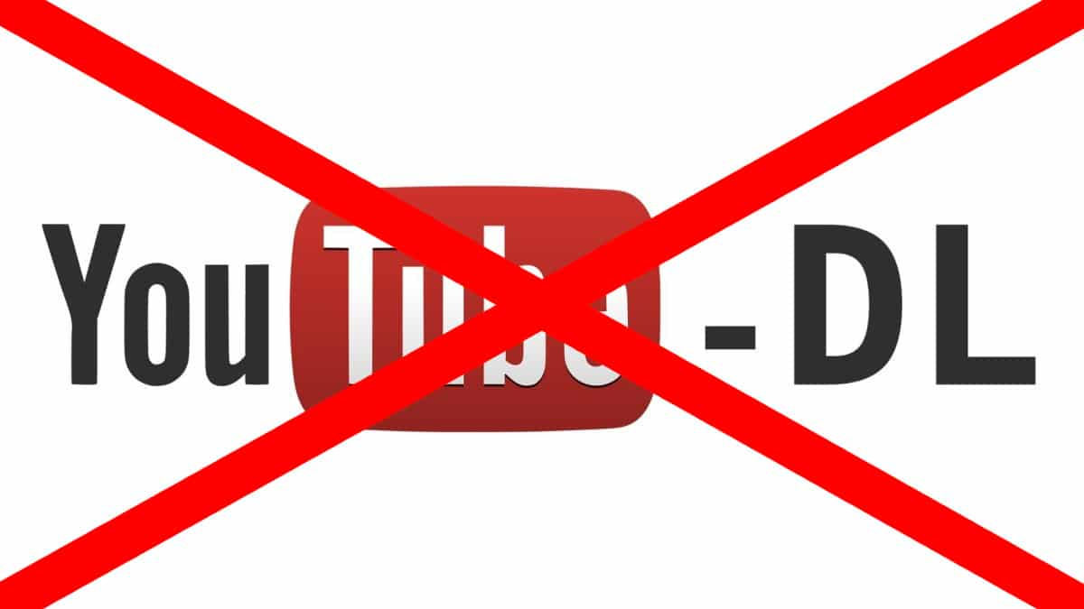 YouTube-DL prohibido