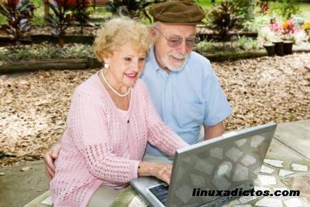 Las redes sociales y los mayores