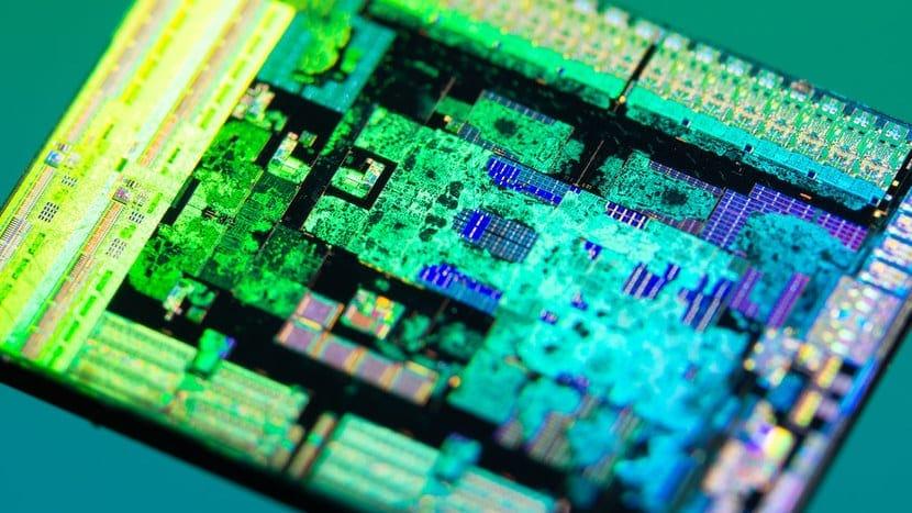 Die shot del AMD Zen 2 de 7nm