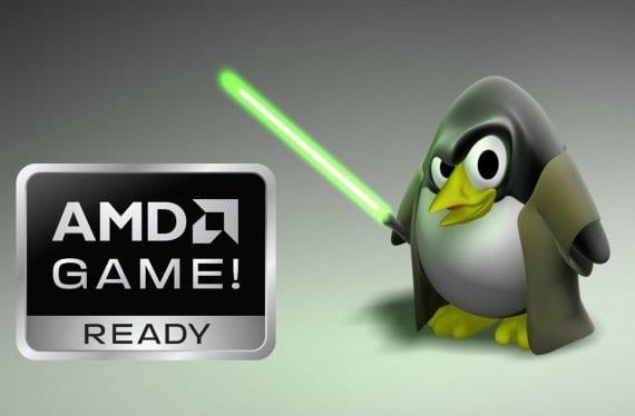 AMD y Tux