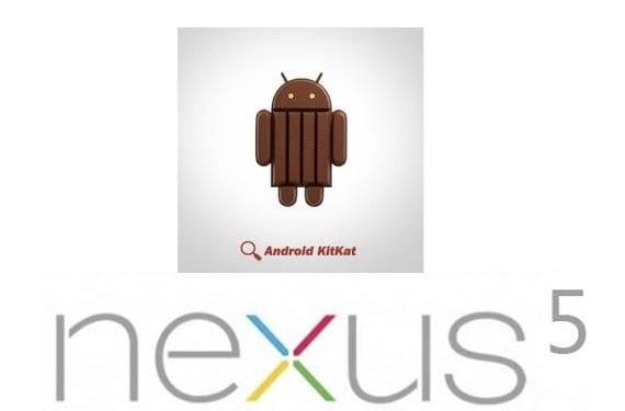 Nexus 5 y Android 4.4