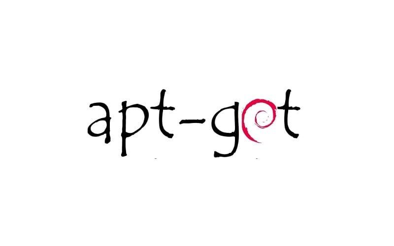 APT y logo de Debian