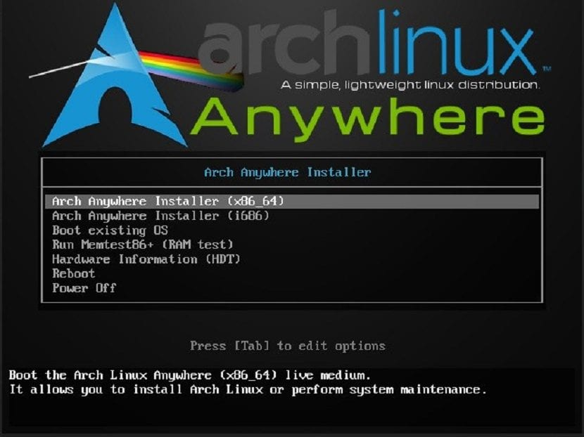 Imagen Arch anywhere